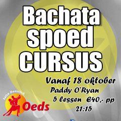 Spoedcursus Bachata in oktober